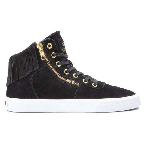 Damskie obuwie sportowe, buty SUPRA - Cuttler Black-White/Black (007) rozmiar: 40