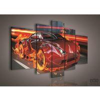 Obrazy, Obraz Car on Fire PS111S4A