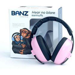 Słuchawki ochronne nauszniki dzieci 0-3lat BANZ - Petal Pink