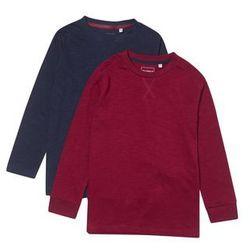 Outfit Kids SLUB 2 PACK Bluzka z długim rękawem red