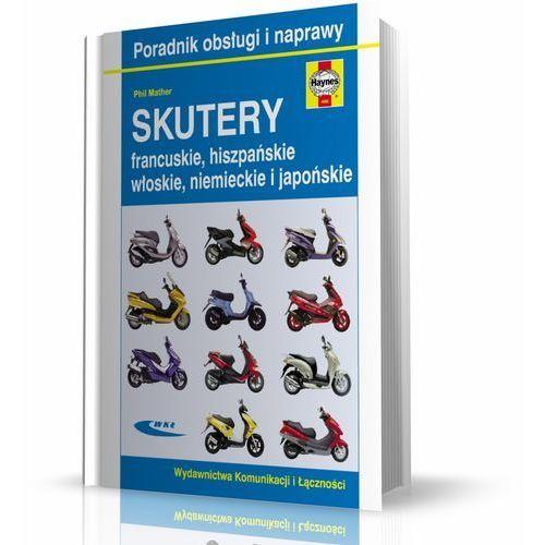 Biblioteka motoryzacji, Skutery francuskie hiszpańskie włoskie niemieckie i japońskie (opr. broszurowa)