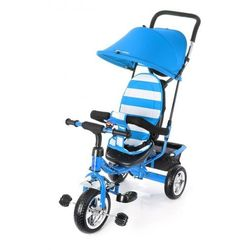 Rowerek trójkołowy TOBI JUNIOR NIEBIESKI #G1