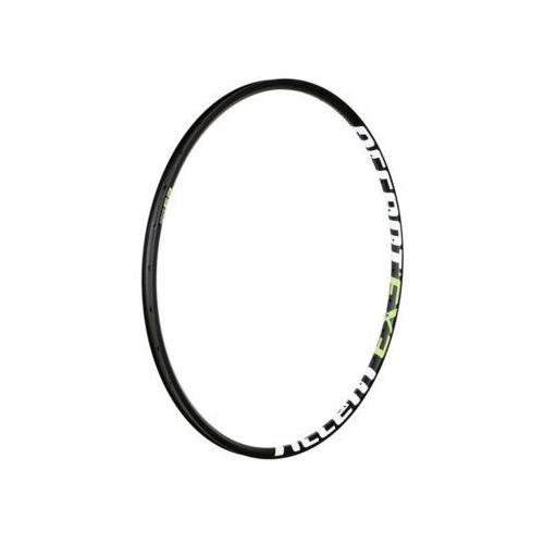 """Obręcze rowerowe, Obręcz Accent EXE 29"""" Tubeless 32 otwory, 25 mm, czarno-biało-zielona"""