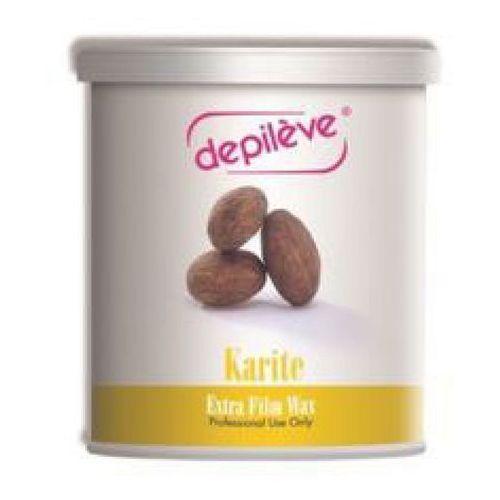 Pozostałe filmy, Depileve KARITE EXTRA FILM WAX Wosk do depilacji bezpaskowej z masłem Karite (800 g.)