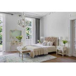Łóżko 150x200 EMMANUELLE blanc