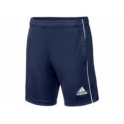 adidas Performance CORE Krótkie spodenki sportowe dark blue/white