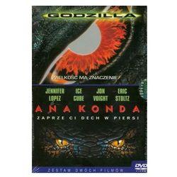 Godzilla + Anakonda (DVD) - Imperial CinePix DARMOWA DOSTAWA KIOSK RUCHU