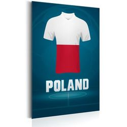 Plakat metalowy - Football: Poland [Allplate]