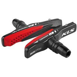 Klocki hamulcowe KELLYS Dualstop V-01 Cartridge czarny-czerwony