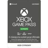 Klucze i karty pre-paid, Subskrypcja Xbox Game Pass Ultimate (3 m-ce)