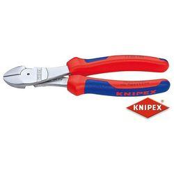 KNIPEX Obcinaczki boczne o dużym przełożeniu, CrV 180mm 74 05 180