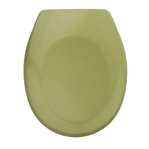 Deski i pokrywy do toalet, Deska sedesowa BERGAMON, kolor zielony uniwersalna, WENKO