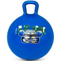 Piłka skacząca Speedster 45cm granatowa