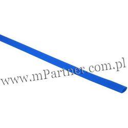 Rura termokurczliwa elastyczna V20-HFT 2,5/1,3 niebieska
