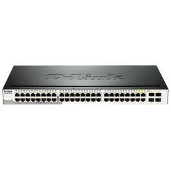 Switch D-Link ProSafe EasySmart 48xGbE (4x Combo RJ45 GbE/SFP)