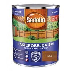 SADOLIN LAKIEROBEJCA 3w1, mahoń, 5l