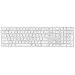 Satechi Aluminum Bluetooth Wireless Keyboard - keyboard - Nordic - silver - Klawiatury - Nordycki - Srebrny