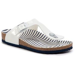 Japonki BIRKENSTOCK - Gizeh Kids Bs 1012724 M Nautical Stripes White