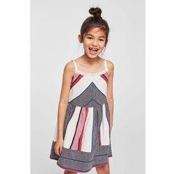 Mango Kids - Sukienka dziecięca Chaya 110-152 cm
