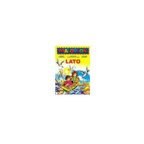 Książki dla dzieci, Maloblok-Lato (opr. miękka)