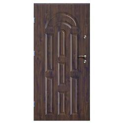 Drzwi zewnętrzne O.K.Doors Azzuro 90 lewe orzech