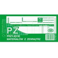 Druki akcydensowe, Przyjęcie materiałów z zewnątrz PZ Michalczyk&Prokop 352-8 - 1/3 A4 (wielokopia)