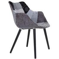 Krzesła, Zuiver Krzesło TWELVE PATCHWORK szare 1100267