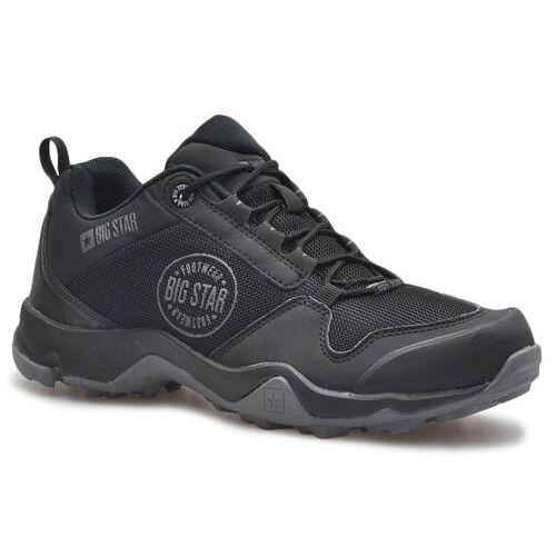 Obuwie sportowe dla mężczyzn, Sneakersy Big Star FF174303 Czarne