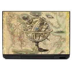Naklejka na laptopa globus p464