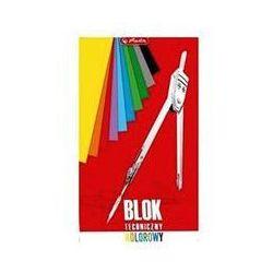 Blok techniczny A3 kolorowy 10 kartek - Herlitz