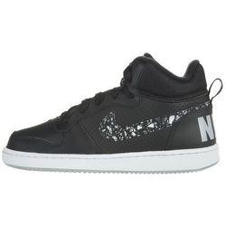 Nike Court Borough Mid Kids Sneakers Czarny 38 Przy zakupie powyżej 150 zł darmowa dostawa.