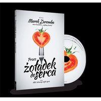 Hobby i poradniki, Przez żołądek do serca (książka + 2CD) (opr. broszurowa)