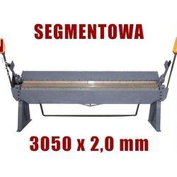 ZAGINARKA GIĘTARKA SEGMENTOWA DO BLACHY MAKTEK 3050mm x 2 mm EWIMAX promocja (--52%)