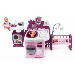 Smoby Baby Nurse Duże centrum kącik opiekunki dla lalek z akcesoriami
