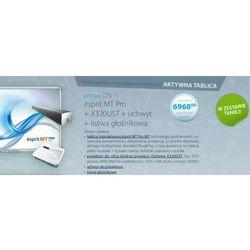 Tablica interaktywna Esprit MT Pro + projektor ultrashort Optoma X320UST + sound bar