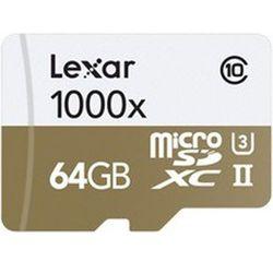 Karta pamięci LEXAR Professional 1000x microSDXC 64GB DARMOWY TRANSPORT