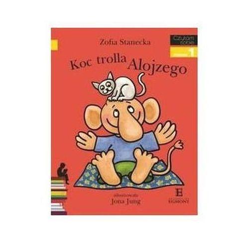 Książki dla dzieci, Czytam sobie. Poziom 1. Koc trolla Alojzego (opr. miękka)