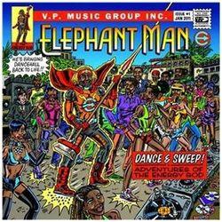 Dance & Sweep! Adventures Of The Energy God - Elephant Man (Płyta CD)