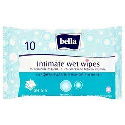 BELLA Chusteczki nawilżane do higieny intymnej 10 szt.
