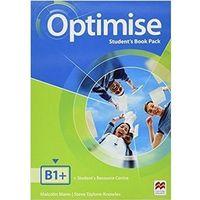 Książki do nauki języka, Optimise B1+ SB MACMILLAN - Malcolm Mann, Steve Taylore-Knowles (opr. broszurowa)