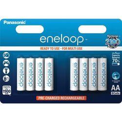 8 x akumulatorki Panasonic Eneloop R6 AA 2000mAh BK-3MCCE/4BE (blister)