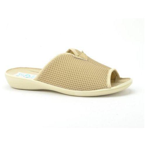 Pozostałe obuwie damskie, Pantofle odkr.palec adanex 20026 835bz/bz/bz