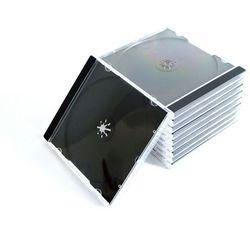 Pudełko plastikowe na 1CD czarny tray High Quality 100szt.