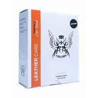 Środki do czyszczenia tapicerki samochodowe, RRC Leather Cleaner Strong Box zestaw do czyszczenia skóry