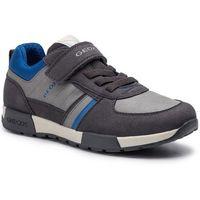 Półbuty i trzewiki dziecięce, Sneakersy GEOX - J Alfier B. A J946NA 0BUAF C0071 S Dk Grey/Royal