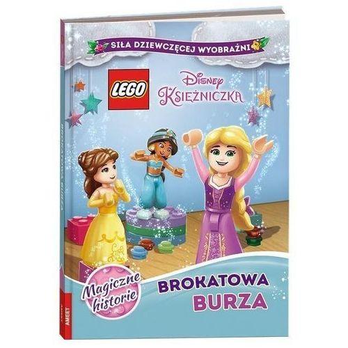 Książki dla dzieci, Lego Disney Księżniczka Brokatowa Burza - Praca zbiorowa (opr. twarda)