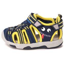 Geox sandały chłopięce Multy 22 niebieski