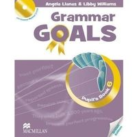 Książki do nauki języka, Grammar Goals 6. Podręcznik + CD (opr. broszurowa)