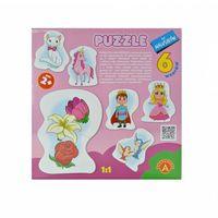 Pozostałe zabawki dla najmłodszych, Alexander Puzzle dla maluszków Królewna