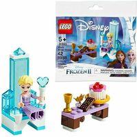 Klocki dla dzieci, LEGO Klocki Disney Princess Zimowy tron Elsy 30553 + PREZENT do zakupów za min.30 zł.